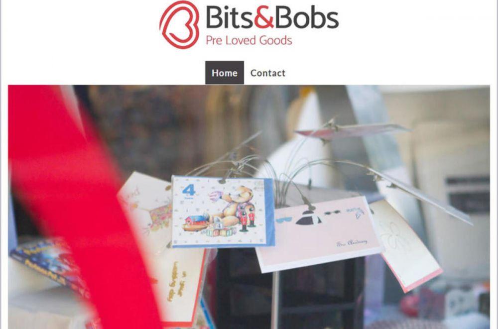 website designed for Bits and Bobs