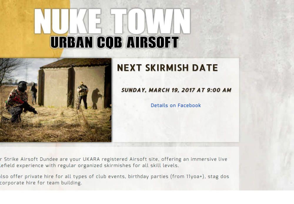 Nuketown Urban CQB Dundee