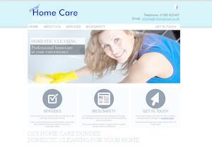 website designed for CCS Home Care