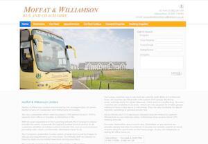 website designed for Moffat Williamson