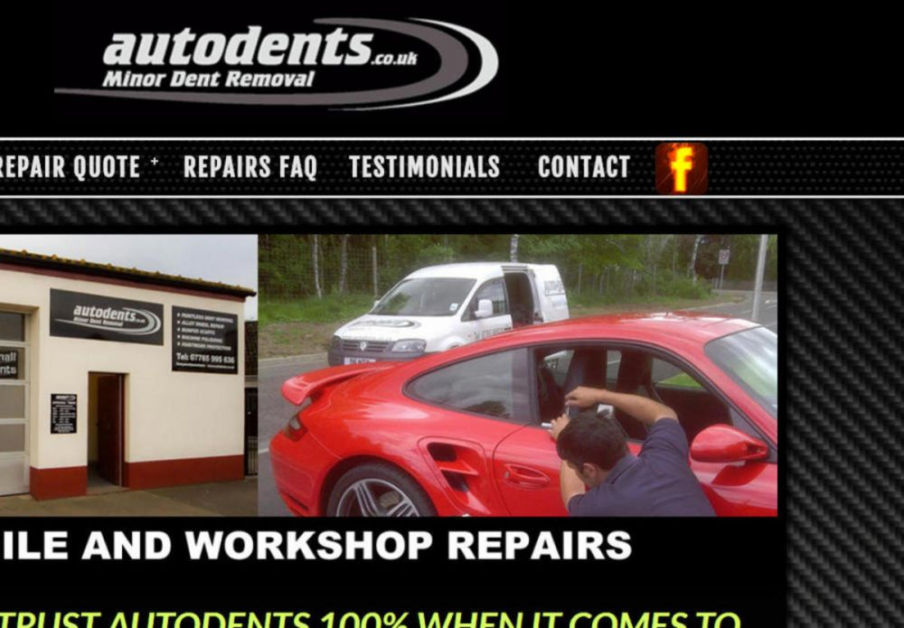 website designed for Autodents