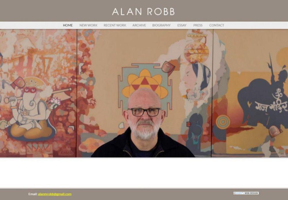 website designed for Alan Robb