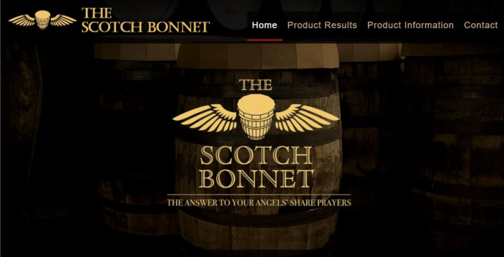 website designed for Scotch Bonnet