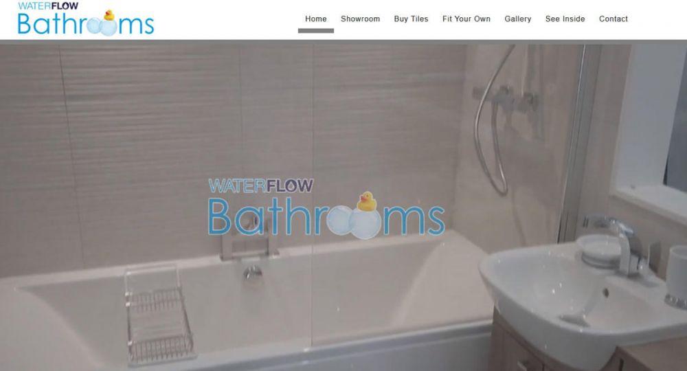 website designed for Waterflow Bathrooms | Waterflow Bathrooms