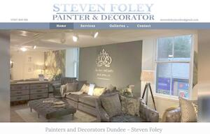 website designed for Steven Foley Decorator