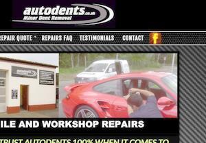 website designed for Autodents