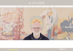 website designed for Alan Robb