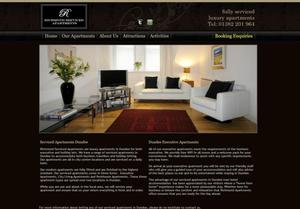 website designed for Richmond Apartments