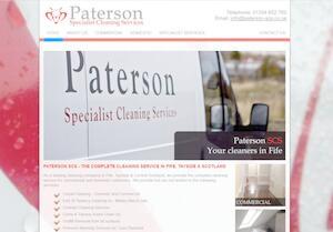 website designed for Paterson SCS