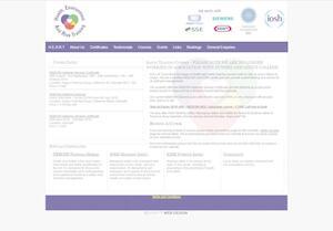 website designed for Safety HEART
