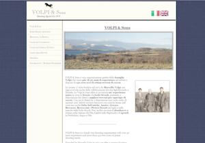 website designed for Volpi and Sons