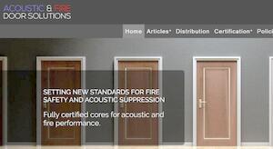website designed for AFDSL