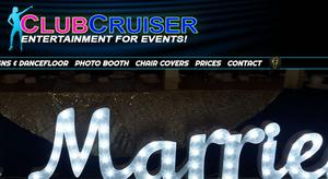 website designed for Club Cruiser