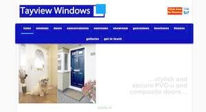 website designed for Tayview Windows