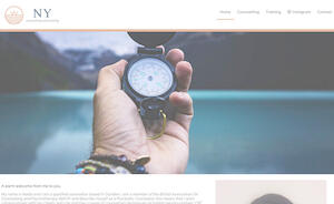 website designed for NY Counselling and Training